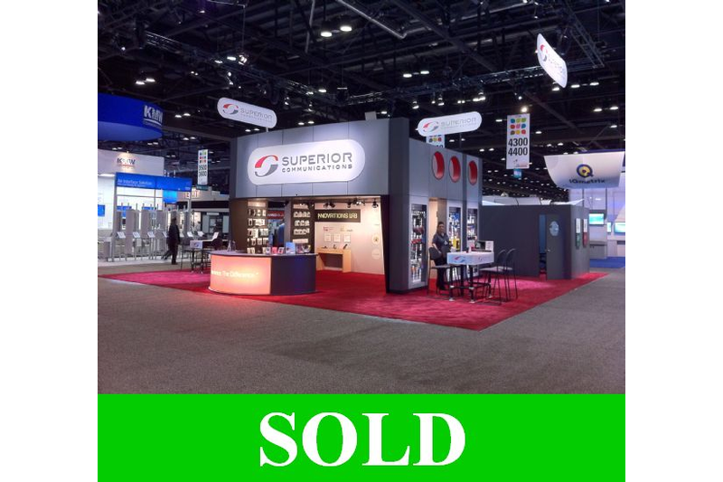 **SOLD**2010 Expo Displays in Above Average Condition For Sale